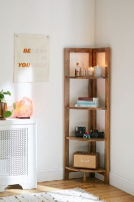 Easy And Simple Shelves Decoration Ideas For Living Room Storage 36