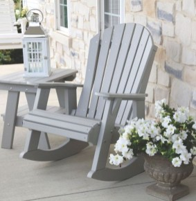 Elegant Chair Decoration Ideas For Spring Porch 04