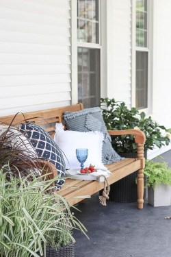 Elegant Chair Decoration Ideas For Spring Porch 06