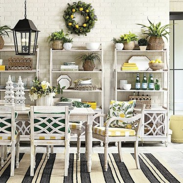 Elegant Chair Decoration Ideas For Spring Porch 08