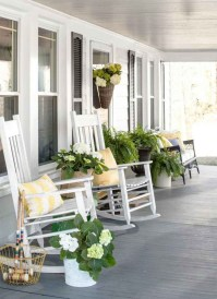 Elegant Chair Decoration Ideas For Spring Porch 20