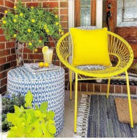 Elegant Chair Decoration Ideas For Spring Porch 21