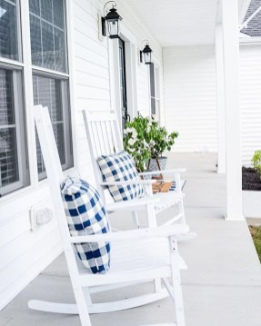 Elegant Chair Decoration Ideas For Spring Porch 26