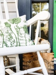 Elegant Chair Decoration Ideas For Spring Porch 28