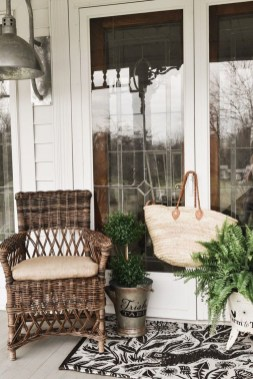 Elegant Chair Decoration Ideas For Spring Porch 34