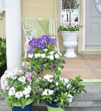 Elegant Chair Decoration Ideas For Spring Porch 35
