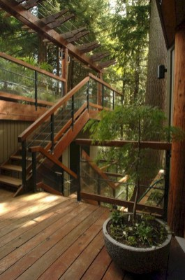 Fantastic Wood Terrace Design Ideas That You Can Try In This Spring 06