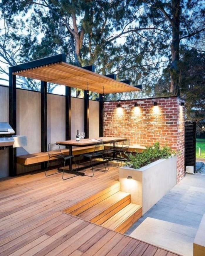 Fantastic Wood Terrace Design Ideas That You Can Try In This Spring 13