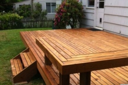 Fantastic Wood Terrace Design Ideas That You Can Try In This Spring 19