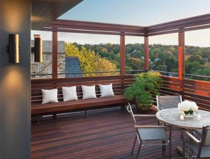 Fantastic Wood Terrace Design Ideas That You Can Try In This Spring 44