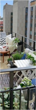 Fascinating Small Balcony Ideas With Relax Seating Area 21