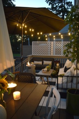 Fascinating Small Balcony Ideas With Relax Seating Area 37