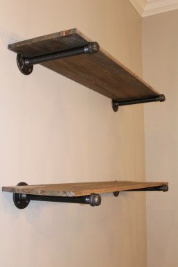 Innovative DIY Industrial Pipe Shelves You Can Make At Home 19