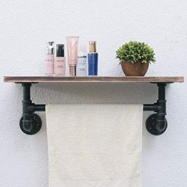 Innovative DIY Industrial Pipe Shelves You Can Make At Home 30