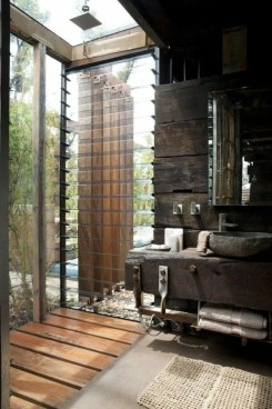 Spectacular Outdoor Bathroom Design Ideas That Feel Like A Vacation 09