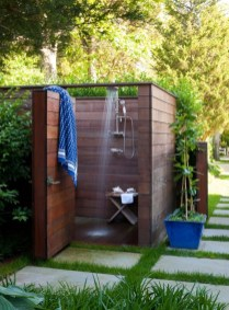 Spectacular Outdoor Bathroom Design Ideas That Feel Like A Vacation 11