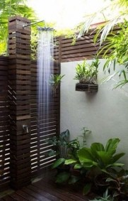 Spectacular Outdoor Bathroom Design Ideas That Feel Like A Vacation 14