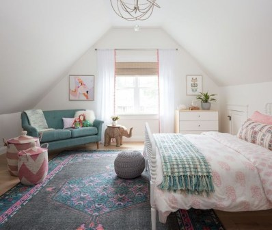 Stunning Teenage Bedroom Decoration Ideas With Big Bed 02