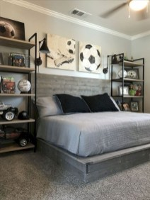 Stunning Teenage Bedroom Decoration Ideas With Big Bed 17