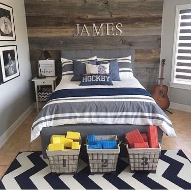 Stunning Teenage Bedroom Decoration Ideas With Big Bed 27