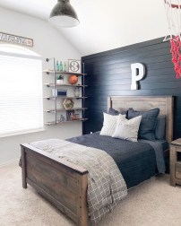 Stunning Teenage Bedroom Decoration Ideas With Big Bed 46