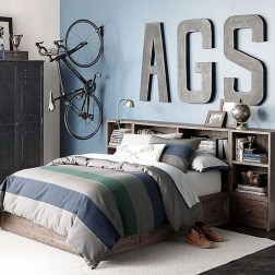 Stunning Teenage Bedroom Decoration Ideas With Big Bed 47