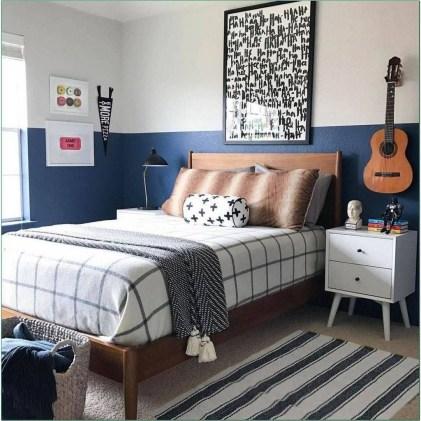 Stunning Teenage Bedroom Decoration Ideas With Big Bed 50