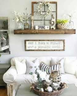 Superb Living Room Decor Ideas For Spring To Try Soon 04