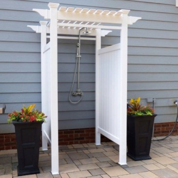 A Perfect Collection Of Outdoor Shower Ideas For Your Home 17