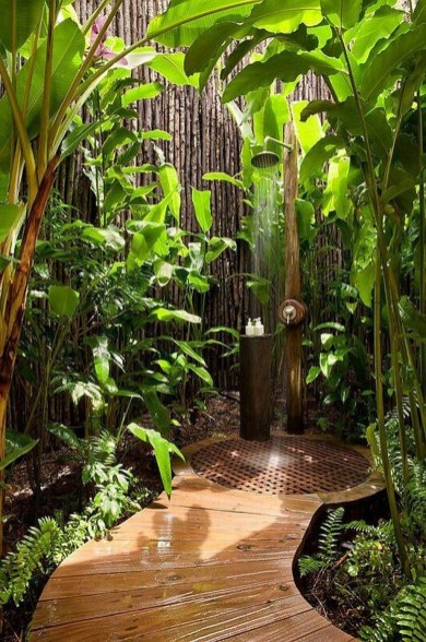 A Perfect Collection Of Outdoor Shower Ideas For Your Home 40