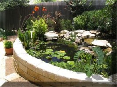 Adorable Fish Ponds Inspirations For Your Home 07