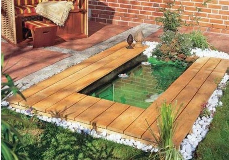 Adorable Fish Ponds Inspirations For Your Home 09