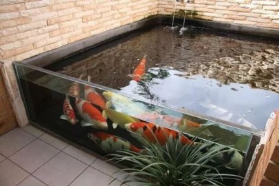Adorable Fish Ponds Inspirations For Your Home 18