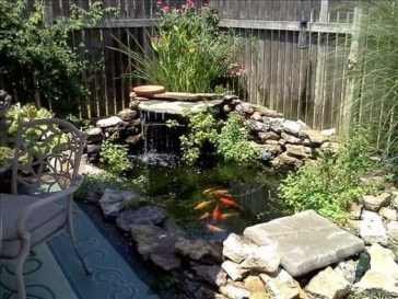 Adorable Fish Ponds Inspirations For Your Home 26