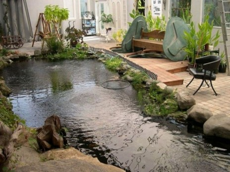 Adorable Fish Ponds Inspirations For Your Home 31