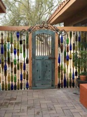 Beautiful Garden Fence Decorating Ideas To Follow 29