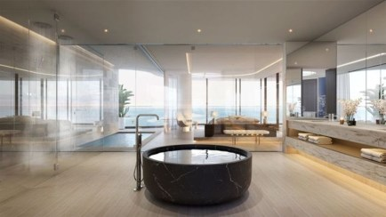 Best Inspirations To Design Luxury Apartment With Hot Tub 20