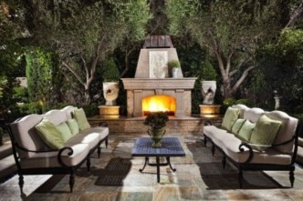 Comfy Spring Backyard Ideas With A Seating Area That Make You Feel Relax 24