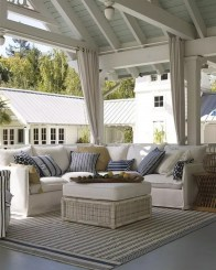 Comfy Spring Backyard Ideas With A Seating Area That Make You Feel Relax 26