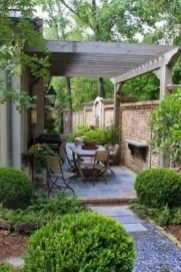 Comfy Spring Backyard Ideas With A Seating Area That Make You Feel Relax 35