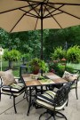 Comfy Spring Backyard Ideas With A Seating Area That Make You Feel Relax 36