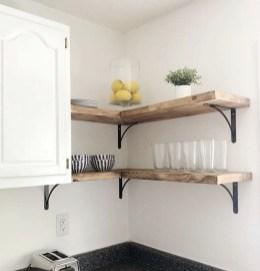 Creative Floating Corner Shelves For Living Room Organization Ideas 13
