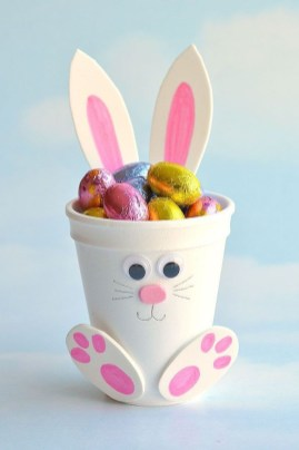Cute Easter Bunny Decorations Ideas For Your Inspiration 07