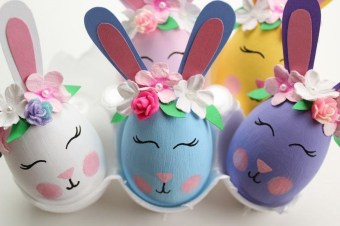 Cute Easter Bunny Decorations Ideas For Your Inspiration 39