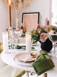 Easy And Natural Spring Tablescape To Home Decor Ideas 25