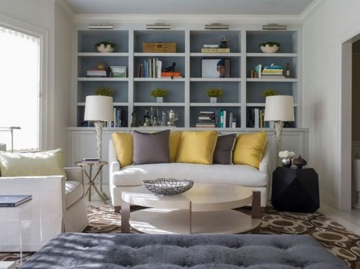 Fabulous Bookcase Decorating Ideas To Perfect Your Interior Design 20