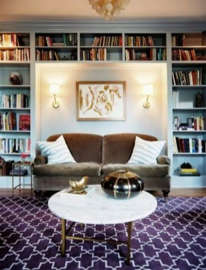 Fabulous Bookcase Decorating Ideas To Perfect Your Interior Design 21