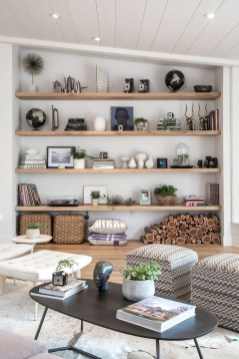 Fabulous Bookcase Decorating Ideas To Perfect Your Interior Design 34