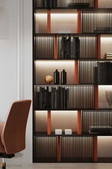 Fabulous Bookcase Decorating Ideas To Perfect Your Interior Design 37