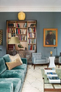 Fabulous Bookcase Decorating Ideas To Perfect Your Interior Design 42